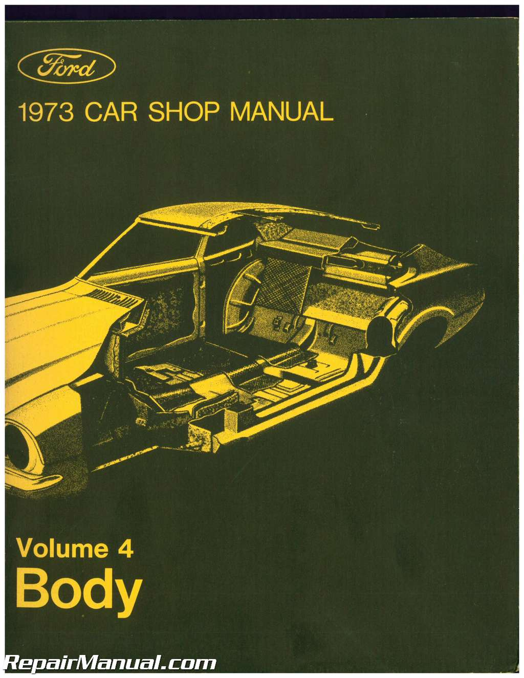 1973 ford truck shop manual volume 2