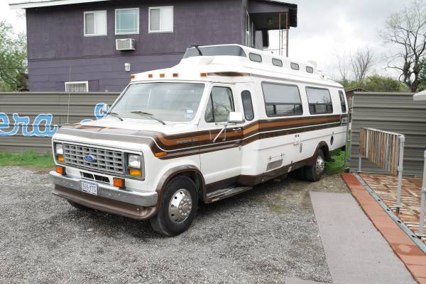 1989 ford econoline motorhome owners manual
