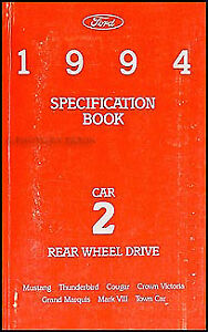 1994 lincoln mark viii owners manual