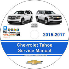 2017 chevy tahoe owners manual