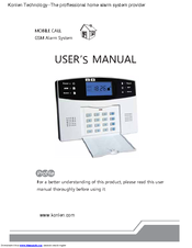 wireless dsp security alarm system user manual