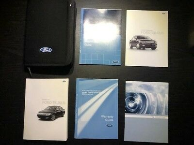 2008 ford taurus sel owners manual