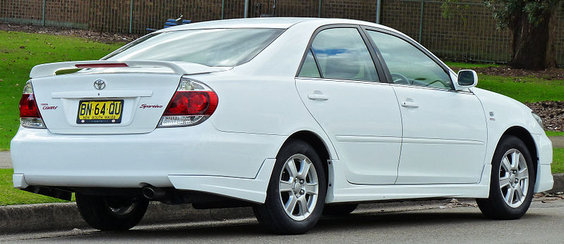 2002 toyota camry le owners manual