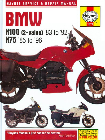 bmw k100 owners manual download