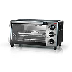 black and decker 2 knob toaster oven manual