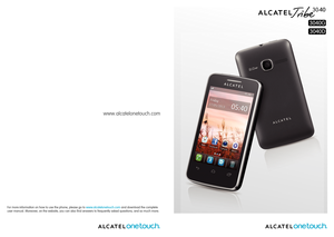 alcatel one touch owners manual